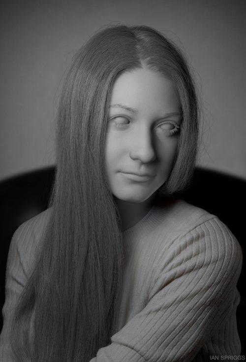 Portrait of Cassidy_Model