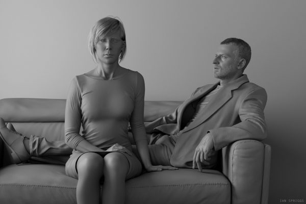 Portrait of Graham and Amanda