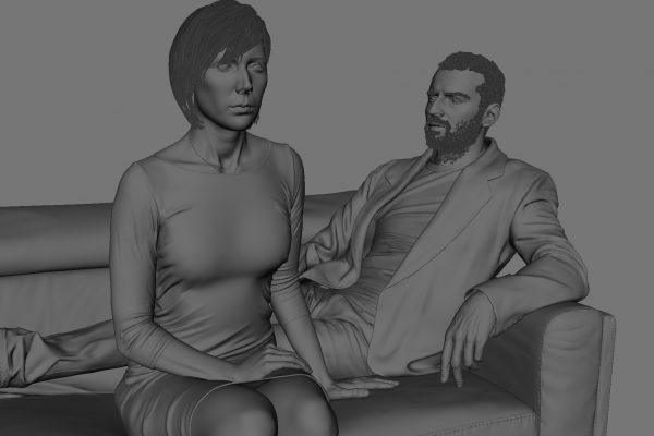 Ian Spriggs_Portrait of Graham&Amanda_IANSPRIGGS_71