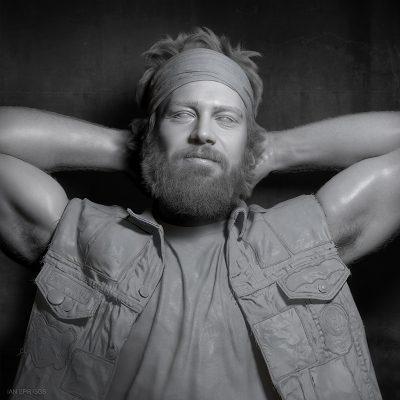 Portrait of Tony_Model